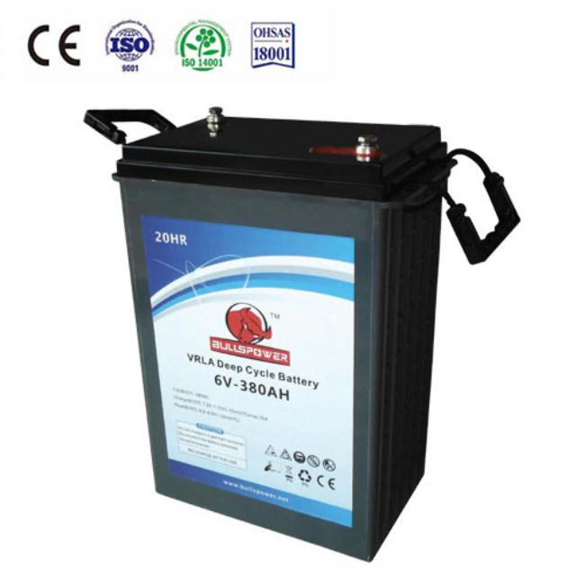 Maintenance free 6v 225ah deep cycle 12v 6 volt golf cart battery