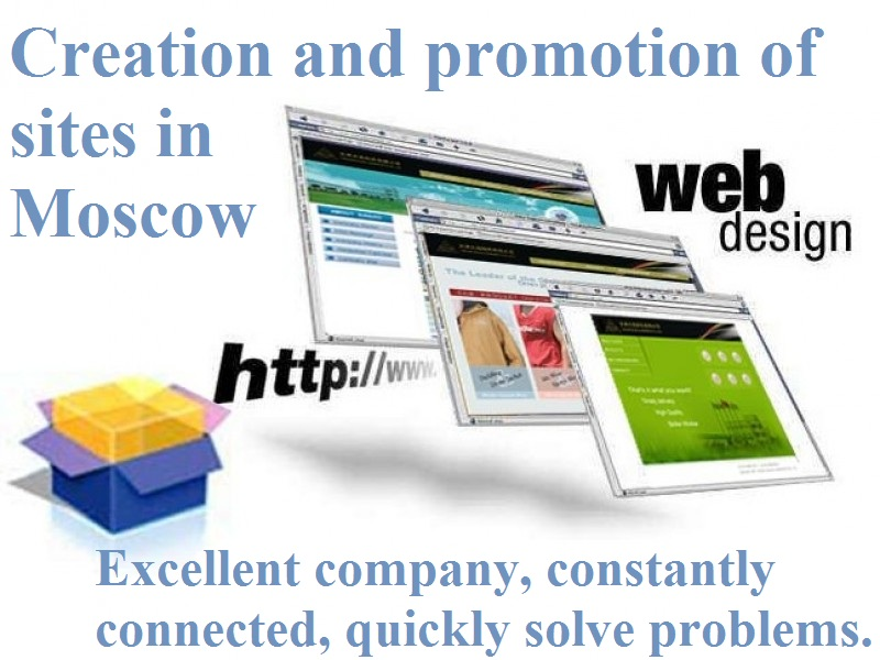 creation of websites in Russian (in Russian Internet zone RU) for Chinese companies