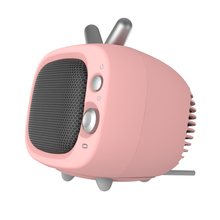 New design cute PTC portable mini fan <strong>heater</strong> with 500W/1200W