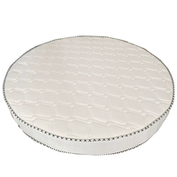 Super King Foldable Circle Shape Innerspring Quality Foshan Memory Foam Pocket Spring King Size Round Mattress