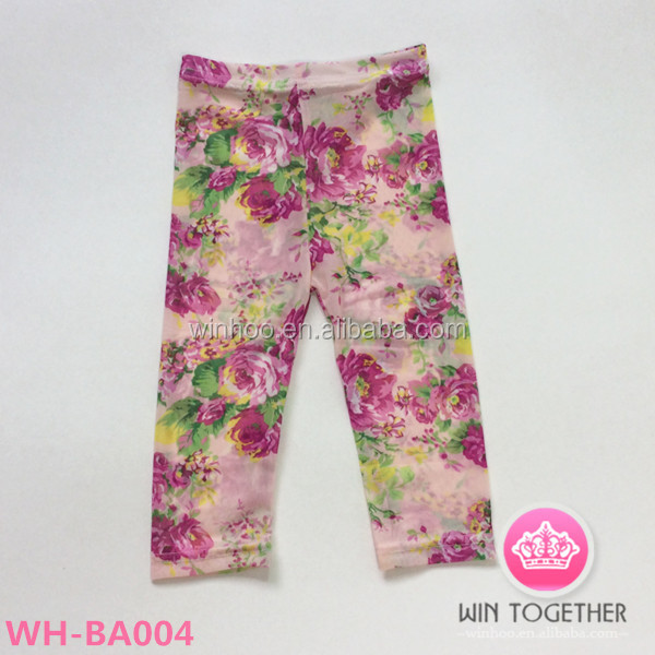 hot wholesale korean clothes,capri pants three size for 2-8years for kids