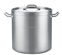 Highest quality Kitchenware stainless steel soup low pressure cauldron steam cooking pot