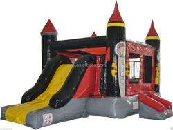Famous Boys Inflatable Jumper And Slide,Inflatable Jump Combo For Fun