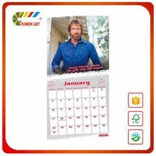 A4/A5 Size Foldable Good quality Table Calendar yearly english arabic calendar 2016