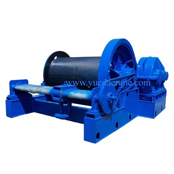 JM model low speed electric winch 20 ton