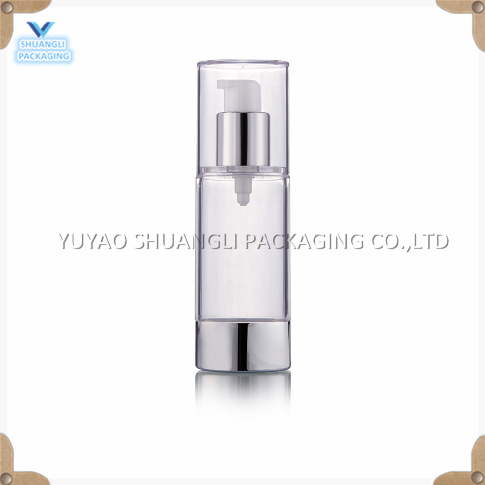 oval airless pump bottle 30ml