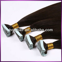 "Top quality 8A virgin peruvian tape hair 8""-30""inch cheap wholesale tape hair extensions"