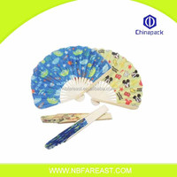 New style alibaba supply bamboo hand fans ribs