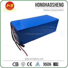 Customized high power lithium 36v 30ah lifepo4 battery with BMS and charger
