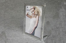 clear wholesale acrylic picture frames moulding various size available