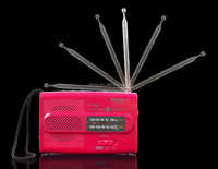 Mini AM FM Receiver Rechargeable Radio World Universal Antenna High Quality Radio Stations Built in Speaker BC288