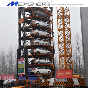 CE pproved china parking system automatic rotation project rotary parking