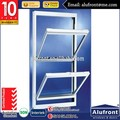 Aluminum Double Hung Window/Window Glass and Prices/Top Hung Window Price