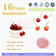 Nature Cherry Fruit Juice Powder / High Quality Acerola Cherry Extract Powder/ High Quality Black Cherry