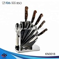 Royal Kitchen knife Set with block