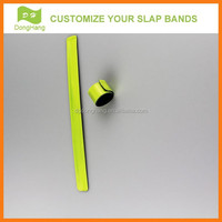 Eco-friendly Material reflective slap wristbands