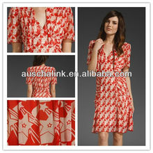 12DR164hot selling new design fashion high quality 2013 casual dress