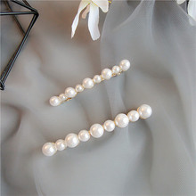 2018 New Wholesale Customised Women Fashion Hairpins Jewelry Accessories Elegant Charm Party Girls Gift Fully Pearl Hairpin