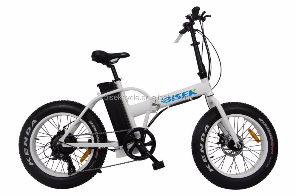 20'' 4.0 mini fat tire folding electric pocket bike