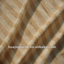 Striped Velvet Upholstery Fabric
