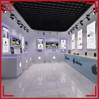 Competitive price for new mobile phone shop interior design
