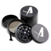 VA metal herb grinder metal smoking pipes parts for tobacco with custom gift packing,carry bag