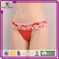 Customized LOGO Romantic Friendly Super Indian Girl Panty