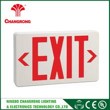 USA UL Approved Rechargeable Wall 277v Led Emergency Exit Sign Lamp
