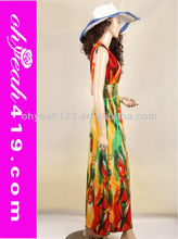 Newest design Elegant Bohemian beach wear kaftans