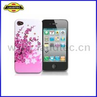 New Stylish TPU Floral Series Bee Gel Case for Apple IPhone 4 4s