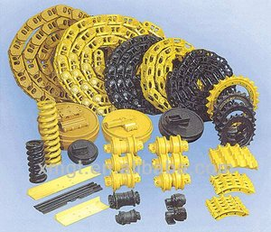 Undercarriage spare parts for excavator and bulldozer