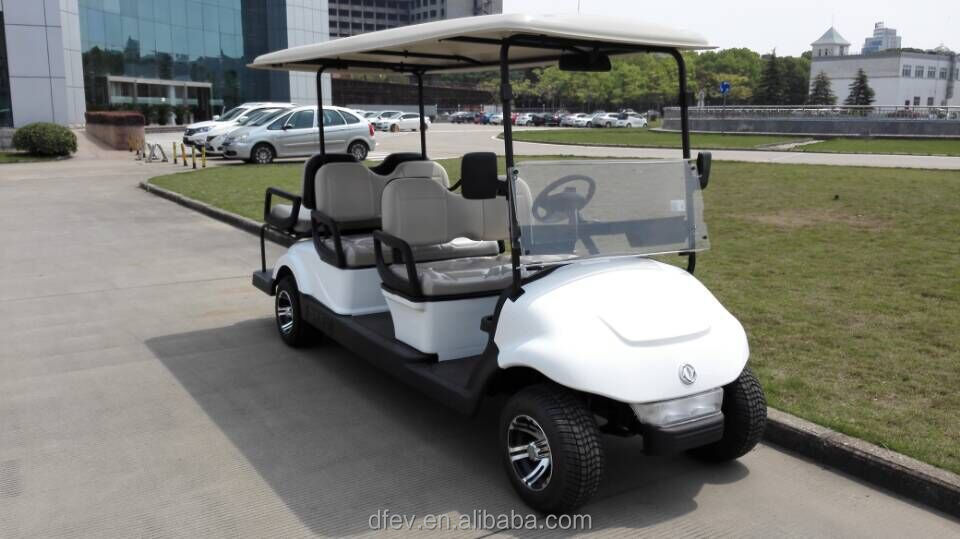 Good performance cheap 6 seats electric golf buggies with CE certificate