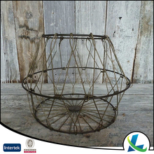 High Quality Wholesale Collapsible Round Metal Wire Basket
