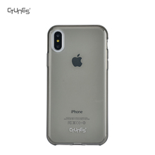 Clear Gray Jelly Colorful Soft Tansparent TPU GEL Protective Cell Phone Case Covers For Apple iPhoneX 5.5""