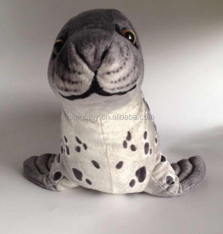 2016 Hot Sale new style soft stuffed customized plush seal toy
