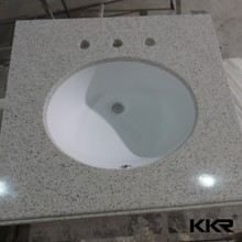 KKR Brand one piece vanity top bathroom vanity top sink
