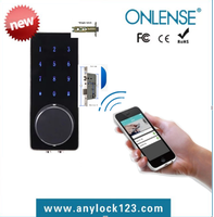 touch screen smart home indoor lock computer controlled security system