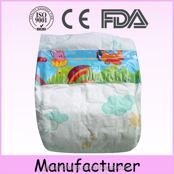 China wholesale China good price high quality Disposable sleep sweet baby star diaper