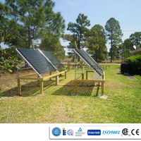 Evacuated Tube Heat Pipe Solar Collector, Solar Heating System