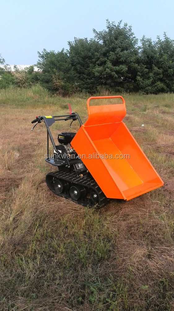 2016 QingDao New model underground mining dumper truck motorized wheelbarrow
