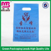 high quality product line plastic die cut bag for packing pen