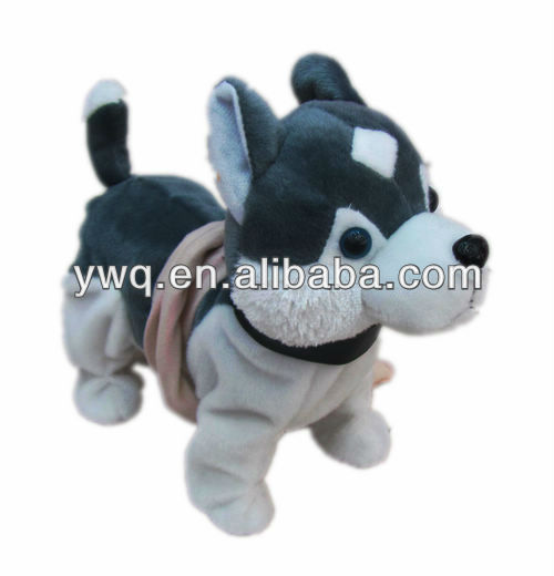 electric walking dog toy for kids plush dog puppy