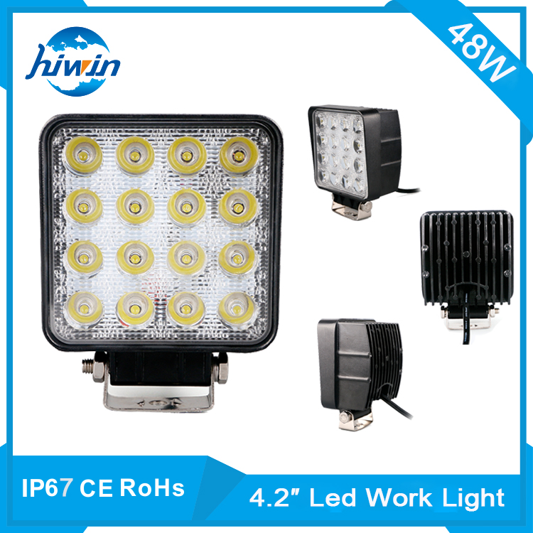 Hiwin 4.2inch 48w auto lighting system work lamp wholesale safety mechanic work lamp HW-7248