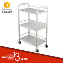 SPA Cart beauty trolley with Metal Shelves