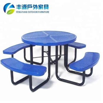 supermarket rest waiting table for outdoor table