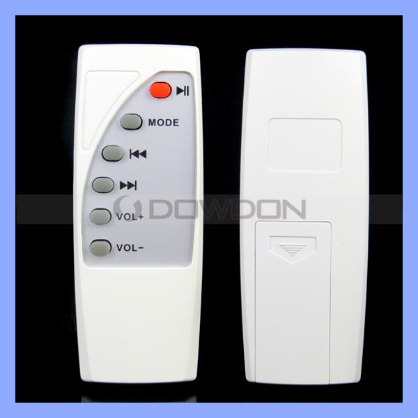 Universal Remote Control Code for Fan MP3 Speaker Conductive Rubber Key Board Ultra Mini Remote