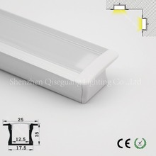 recessed mount led aluminum profile for handrail