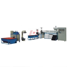 LR-D135/110 PE waste plastic film recycling extruder machine