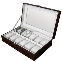 12 slots High qualtiy wooden watch box