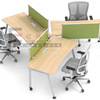 Modern 120 Degree Modular Office Cubicle